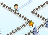 Игра Заводная лыжня