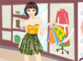 Игра Девушка и модный шоппинг