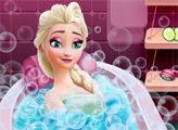 Игра Красавица Эльза в Ванной