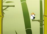 Игра Панда лезет на Бамбук