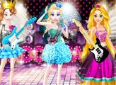 Игра Принцессы Рок-звезды