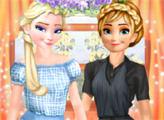 Игра Эльза и Анна костюмы для работы