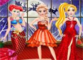 Игра Рождественский Бал Принцесс