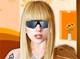 Игра Леди Гага наряжается
