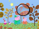 Игра Свинка Пеппа - найди числа