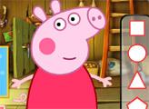 Игра Уход за глазами Свинки Пеппы