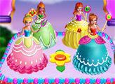 Игра Торт с принцессами