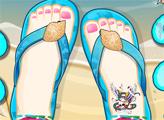 Игра Дизайн для пляжных сандалий