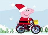 Игра Свинка Пеппа - Рождественская доставка