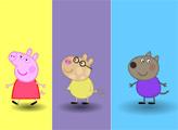 Игра Свинка Пеппа - цветная память