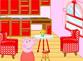 Игра Декор домика свинки Пеппы