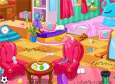 Игра Уборка в детской комнате