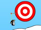 Игра Пингвин с луком гольф