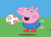 Игра Свинка Пеппа с мячом