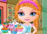 Игра Малышка Барби: Кексы с маленькими пони