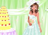 Игра Гламурный свадебный макияж
