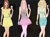 Игра Барби любит мороженое