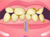 Игра Плохие зубы - макияж