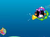 Игра Пингвинья рыбалка