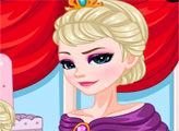 Игра Холодное сердце: Макияж Эльзы