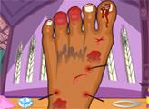 Игра Больная нога Клодин Вульф