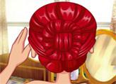 Игра Холодное сердце: причёска Анны для коронации