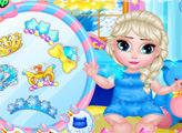 Игра Снежные дети - Эльза и Эбби