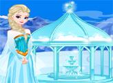 Игра Ледяной душ Эльзы