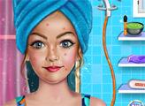 Игра Модный спа-салон макияжа