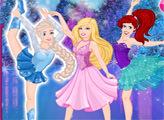 Игра На коньках с принцессами