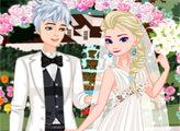 Игра Ретро свадьба Эльзы