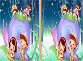 Игра Милые близнецы - 7 отличий