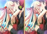Игра Первый поцелуй - 7 отличий