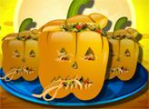 Игра Фаршированные перцы на Хэллоуин