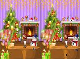 Игра Рождественские забавы - найди отличия