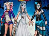 Игра Балл принцессы в Хэллоуин