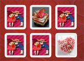 Игра Валентинов День - карточки памяти