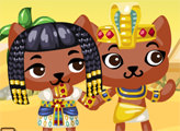 Игра Приключения Котов в пирамидах