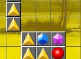 Игра Цветной тетрис «Три в ряд»