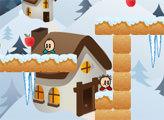 Игра Маленькие Головы - Снежные приключения