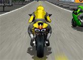 Игра Спортивный мотоцикл