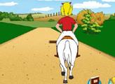Игра Прогулка верхом на лошади