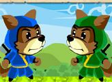 Игра Собаки Ниндзя