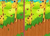Игра Животные в зоопарке - отличия