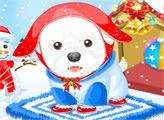Игра Снежный щенок