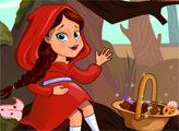 Игра Приключения Красной шапочки в лесу