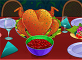 Игра Кулинарный урок Оти: Клюквенная индейка