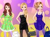 Игра Стильные платья