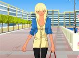Игра Симпатичная блондинка
