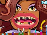 Игра Плохие зубы Клодин Вульф